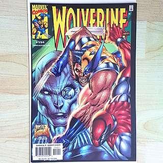 Marvel Comics Wolverine 154 Near Mint Condition Versus Deadpool Rob Liefeld Art Rare
