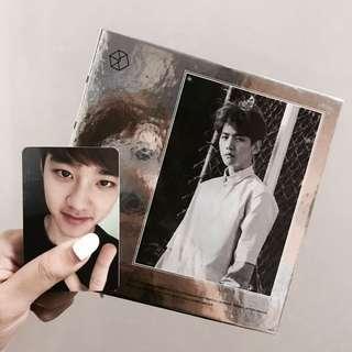 [WTS] baekhyun exodus album (chinese ver.) w/ d.o. pc (black ver.) 💦