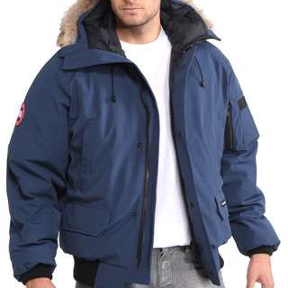 Real Canada Goose jacket (navy, small)