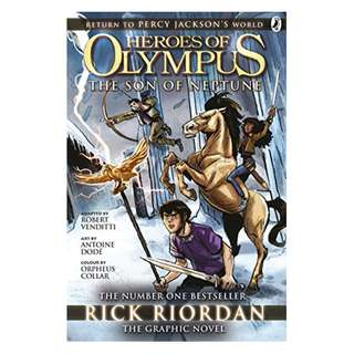 The Son of Neptune: The Graphic Novel (Heroes of Olympus Book 2) (Heros of Olympus 2)  BY Rick Riordan