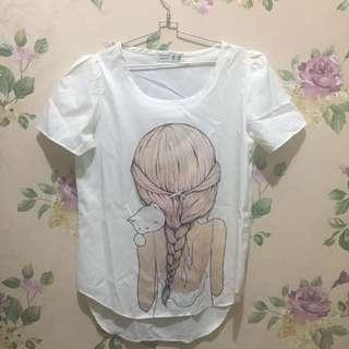 [REPRICE] Chiffon blouse