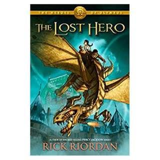 The Lost Hero (The Heroes of Olympus, Book 1)  BY Rick Riordan