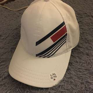 🚚 Tommy Hilfiger sport白色運動帽