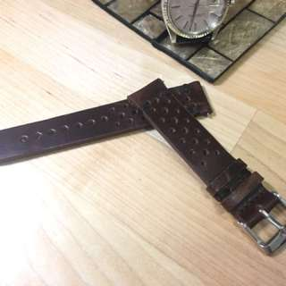 20cm Leather Strap 真皮錶帶 (Rolex, Tudor, Seiko, Apple Watch)