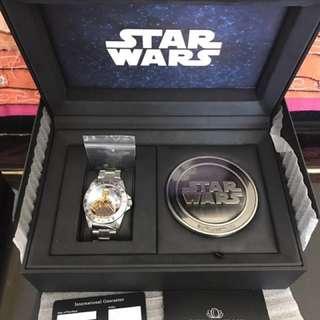 陀飛輪自動機芯coinwatch star wars 星球大戰全國限量688/888號