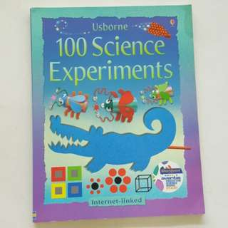0801 NEW Usborne 100 Science Experiments