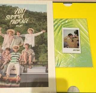 Jungkook selfie book (Summer Package 2017)