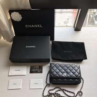 Chanel woc鏈條小包