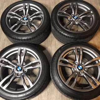 🔥新車落地 🔥 BMW原廠441M 18吋前後配鋁圈+失壓續跑胎