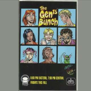 Image Comics  Gen 13 Issue 1 Brady Bunch Parody Variant Near Mint Condition J Scott Campbell