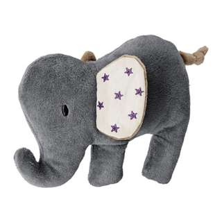 [IKEA] CHAMTROLL Squeaky Toy / Elephant / Grey Beige