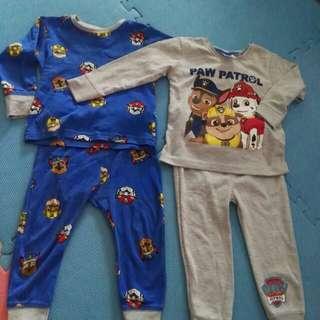 Original Paw Patrol pyjamas