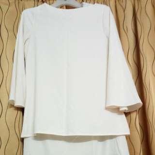 White Blouse/White Dress/White Skirt
