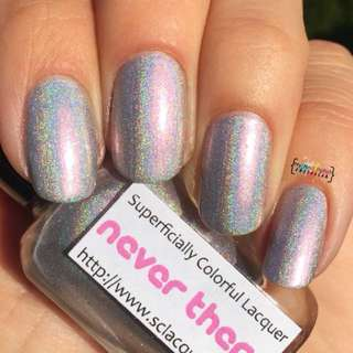Superficially Colorful Lacquer - Never There