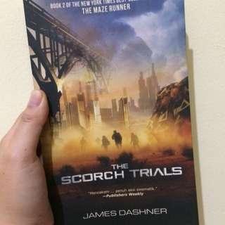 The maze runner series : Scorch Trial by James Dashner