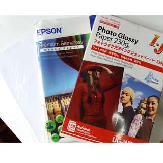 Photo Glossy Paper (3 stacks) at only $30