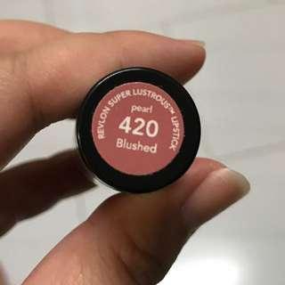 (New!) Revlon Super Lustrous Lipstick 420 Pearl Blushed