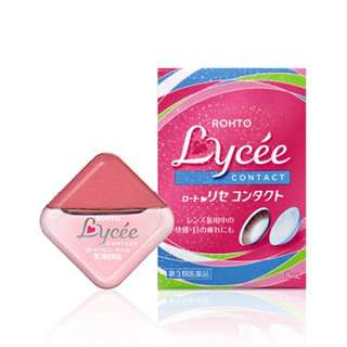 Rohto Lycee Eyedrops for Contact Lens