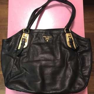 Prada leather bag