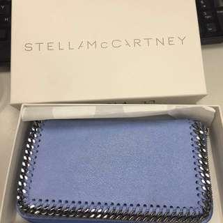 Stella McCartney Falabella baby blue coin Purse Teal Blue Wallet