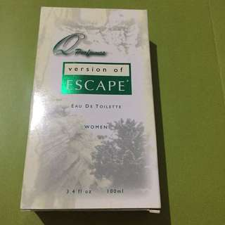 Q Perfumes Version of Escape