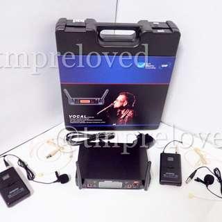Mic Wireless SHURE GLXD 24 (jepit+jepit+headset)