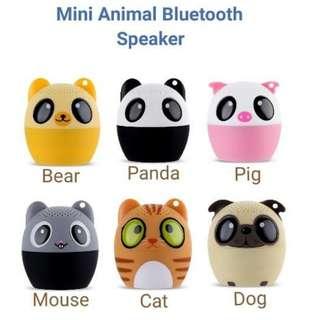 Mini animal bluetooth speaker