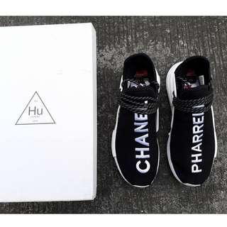 Chanel x Pharrell x Adidas NMD Human Race Trail