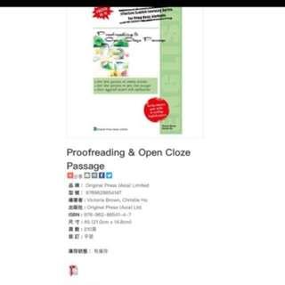 Proofreading & Open Cloze Passage