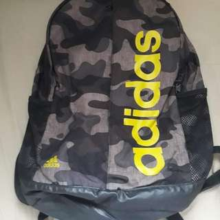 Authentic Adidas Camouflage Backpack