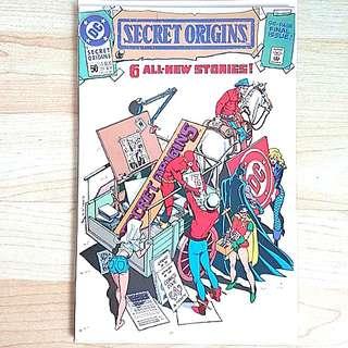 DC Comics Secret Origins 50 Near Mint Condition Last Issue Grant Morrison  Flash Story