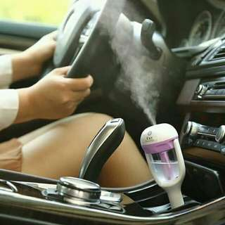 Car humidifier aromatheraphy purifier with USB charging hole