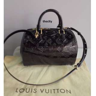 AUTHENTIC LOUIS VUITTON MONTANA TOTE IN VERNIS PATENT LEATHER