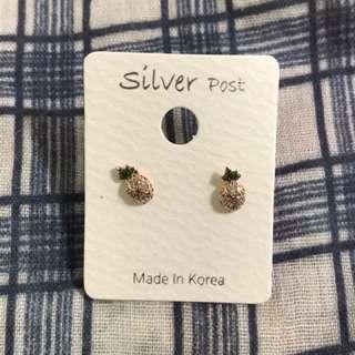 🇰🇷  🍍特殊鳳梨造型耳環🍍