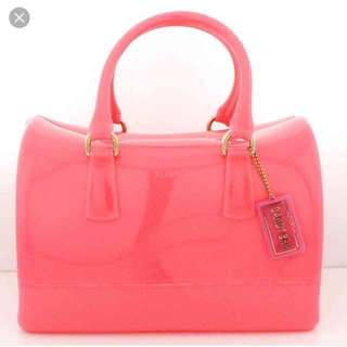 Furla Candy Handbag ' Rose Pink Colour