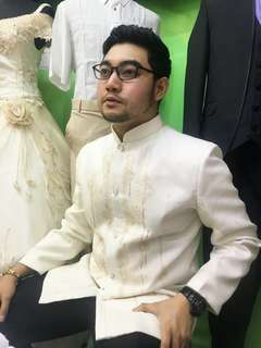 Suit-Barong for Formal event