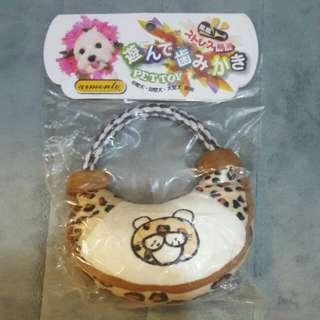 Leopard Handbag Toy (Squeaky)