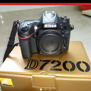 D7200 camera body