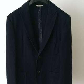 Roberto Cavali Class smart office blazer navy men's jacket