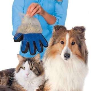 Silicone pet brush Glove Deshedding