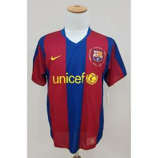 d6be1f82099 Barcelona FC Authentic Home Jersey 2007/2008