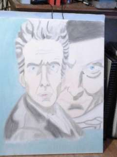 Dr who panting twice upon a christmas