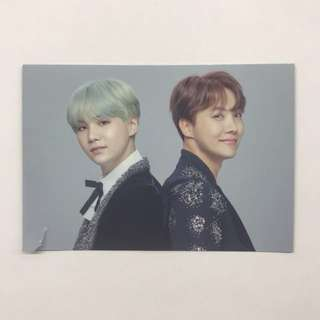 BTS WINGS TOUR THE FINAL : MINI PHOTOCARD