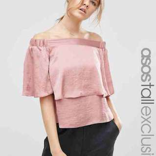 ASOS off-shoulder top