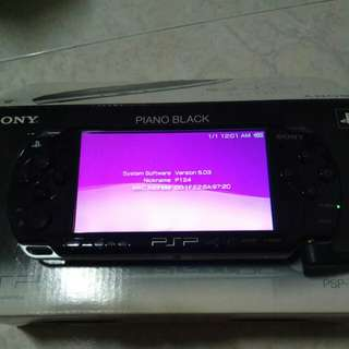 PSP Slim & Lite 2006 5.03v (Piano Black)