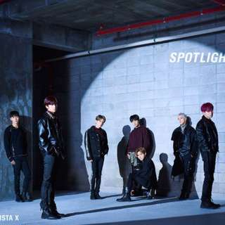 [GO] #MONSTA_X JAPAN 3rd SINGLE - SPOTLIGHT