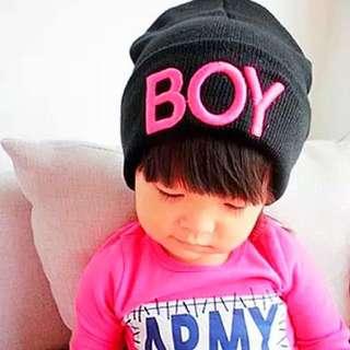 🌟韓國新款可愛男女童針織毛毛絨帽子💕🎩3個月-10歲