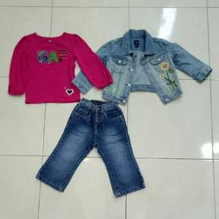 Authentic GAP children wear