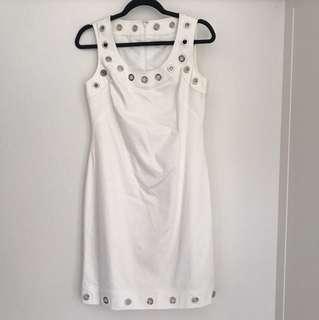 White Calvin Klein Dress
