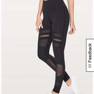 Lululemon mesh leggings (s)